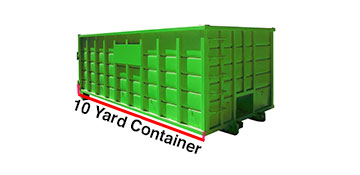10 yard dumpster rental in Katy, TX